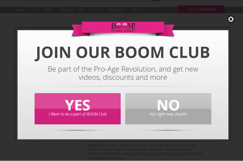 Join Boom Club