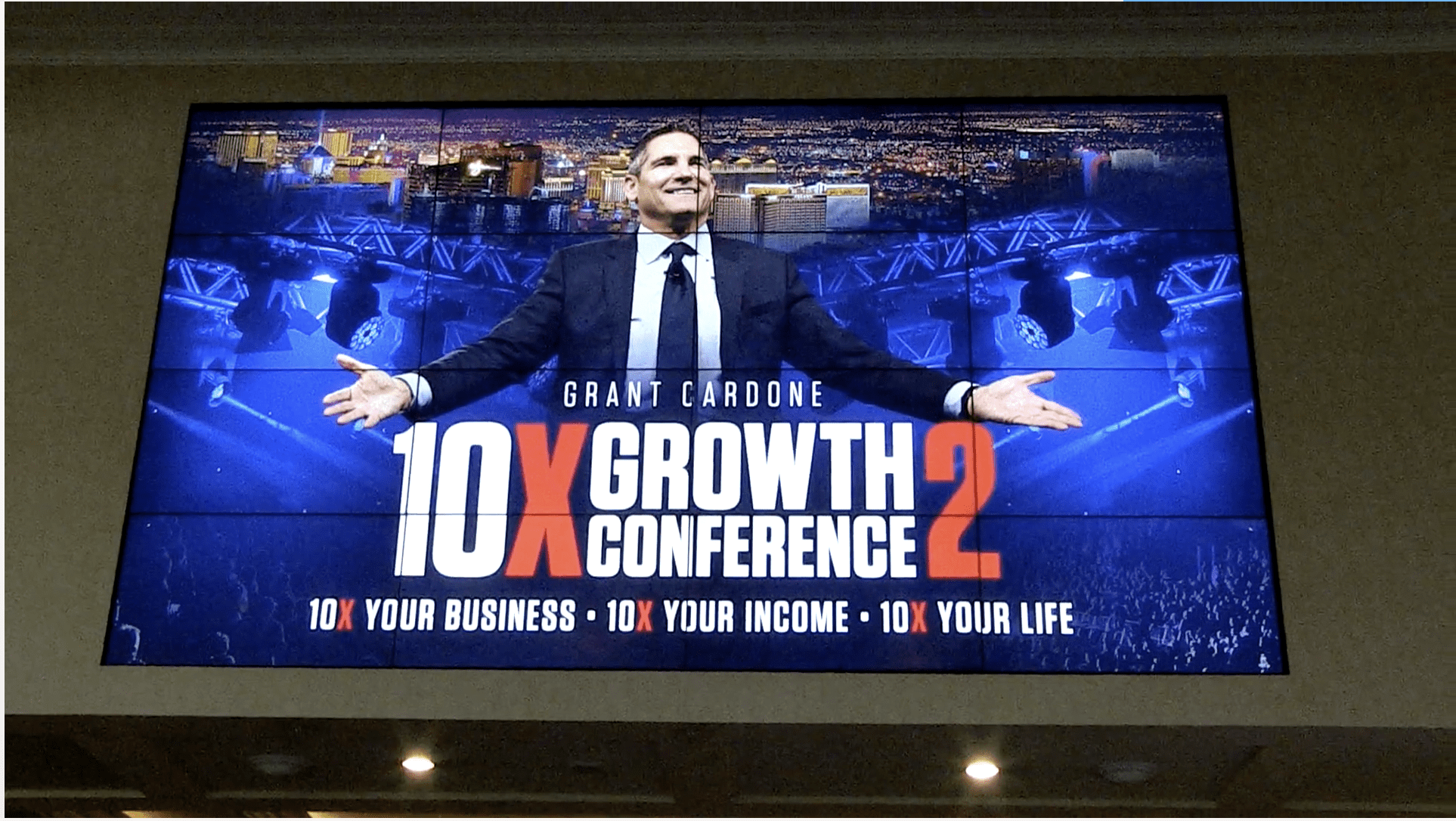 Grant Cardone, 10X Growth Conference 2