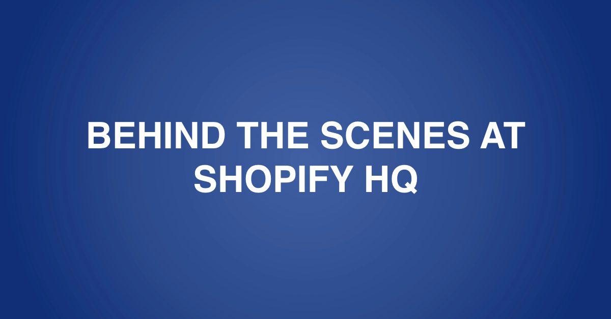 shopify HQ