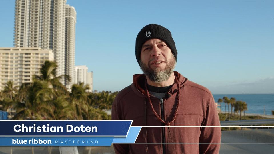 Christian Doten - Blue ribbon mastermind