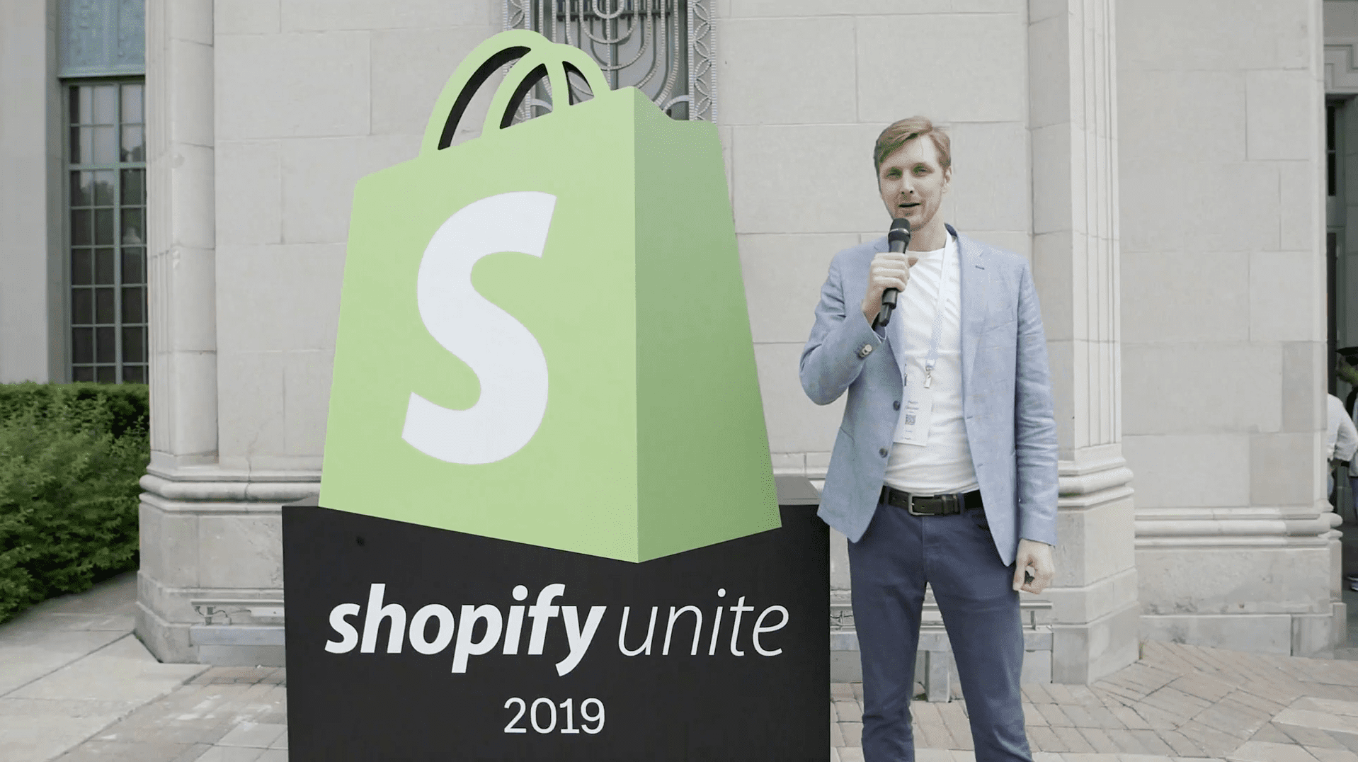 Pepijn Gooiker at Shopify Unite 2019