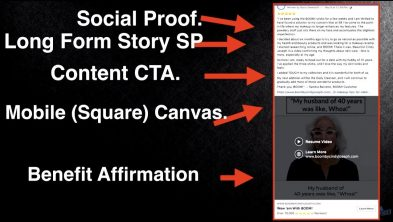 Ezra's Social Proof Ad template