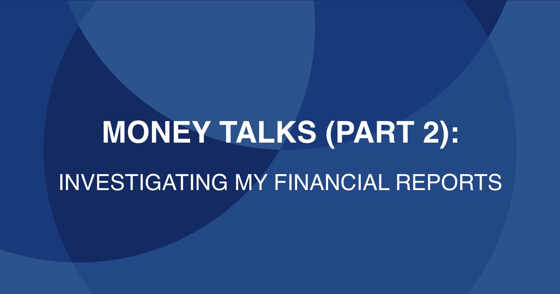 Money Talks (Part 2)