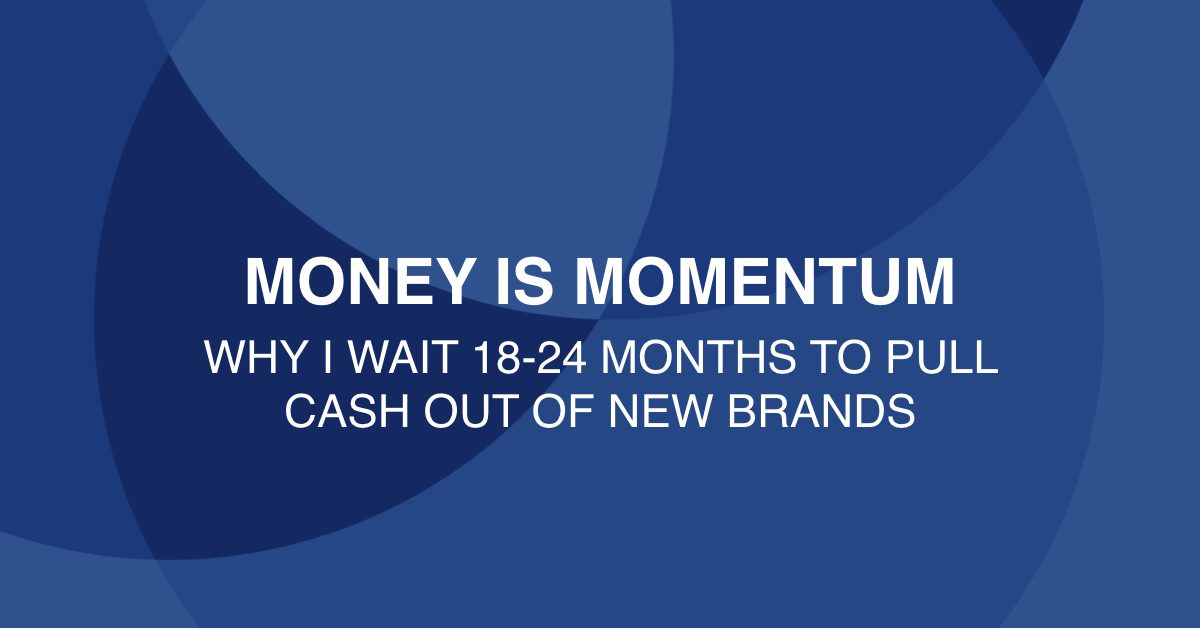 Money is momentum