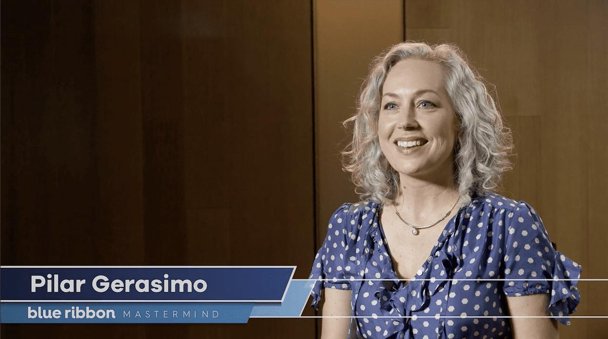 Pilar Gerasimo - Blue Ribbon mastermind