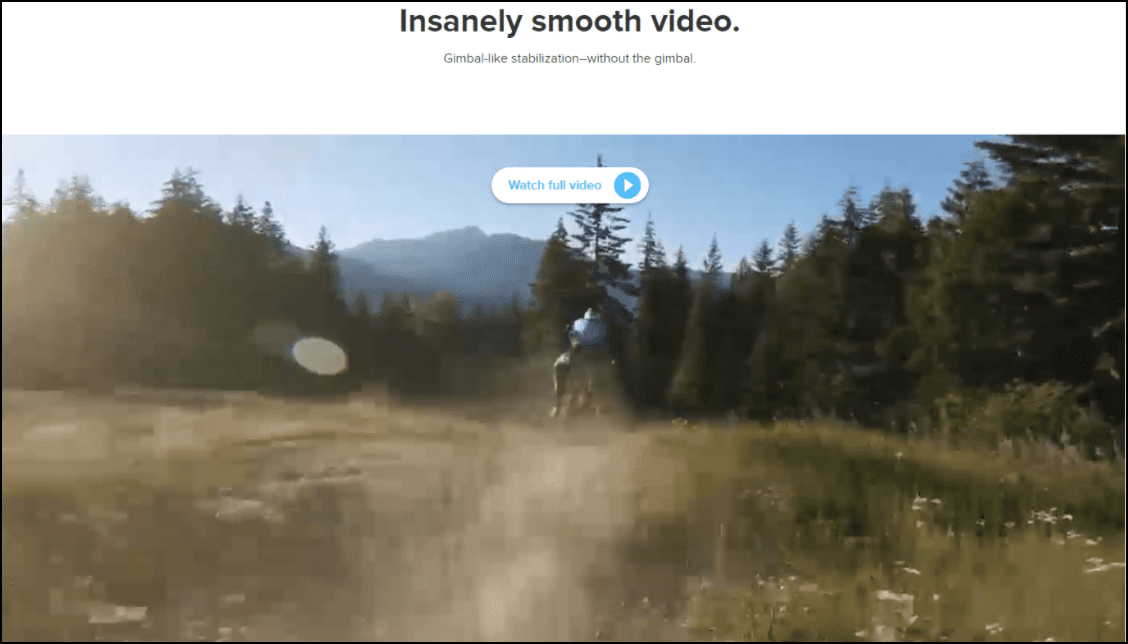 Example of using sales videos and GIFs.