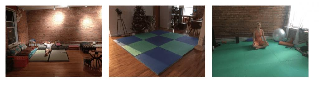 The evolution of Ezra Firestone's home gym.