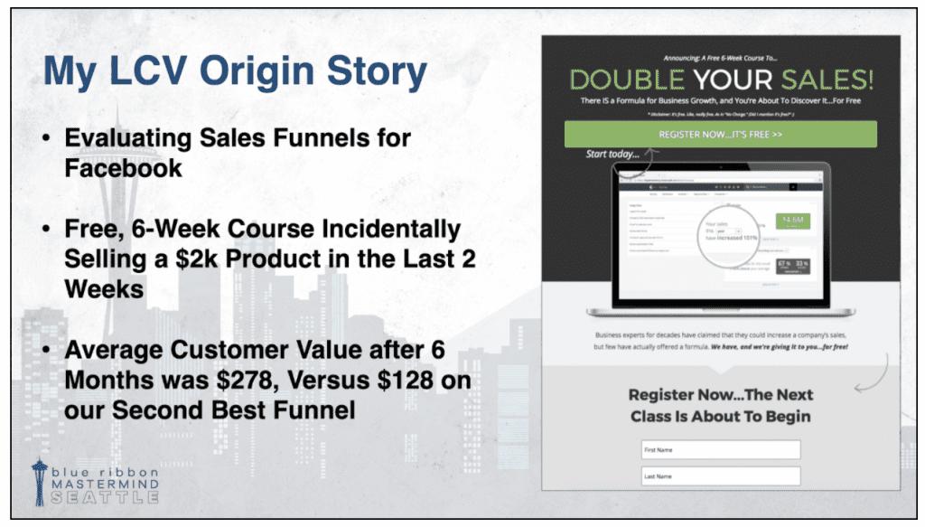 John's case study about Lifetime Customer Value.